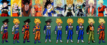android saga goku asneo evolution saiyan saga and lord slug by icecoldplasma