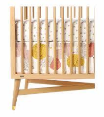 Dwell Crib Bedding Dwellstudio Treetops Canvas Crib Skirt