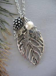 silver leaf necklace pendant images 59 leaf pendant necklace tiffany co peretti leaf pendant necklace jpg
