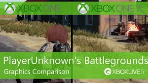 player unknown battlegrounds xbox one x review playerunknown s battlegrounds graphics comparison xbox one x and