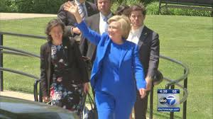 hillary clinton returns to park ridge for campaign stop