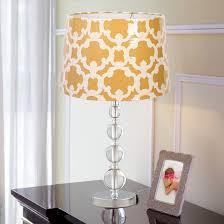 acrylic stacked ball lamp base small threshold target