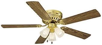 design house millbridge lighting design house 156604 millbridge 3 light ceiling fan 52 polished