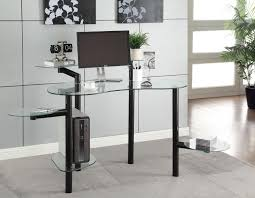 Modern Computer Desks For Home by Contemporary Computer Desk For Home Office Workspace Simple And