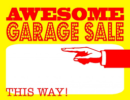 16 best garage sale images on pinterest yard sales flyers and