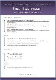 resume templates word curriculum vitae template free word