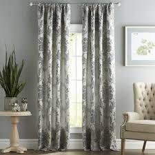 damask curtains u0026 drapes birch lane