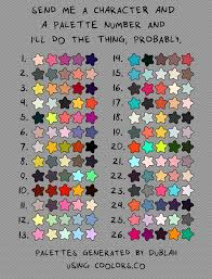 Challenge How Do U Do It Color Palette Challenge By Charliethestargazer On Deviantart