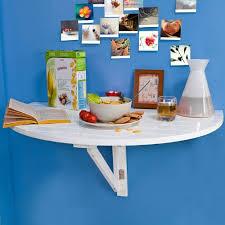 table cuisine demi lune sobuy fwt10 w table murale rabattable en bois table de cuisine pliabl