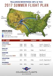 Chicago Airports Map by Getting To Telluride Bear Creek Lodge Of Telluride