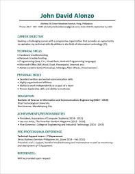 resume style samples sample resume format for fresh graduates one page regarding 85 85 surprising resume format samples