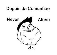 Never Alone Meme - meme cristão abraço sozinho never alone meme cristão pinterest