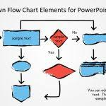 animated flow chart diagram powerpoint template with regard to