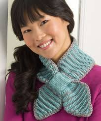 knitting pattern bow knot scarf bow tie neck warmer crochet pattern red heart
