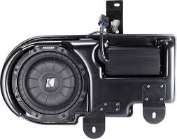 kicker vss substage sf150c09 custom fit powered subwoofer for