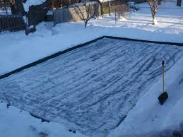 Hockey Rink In Backyard by Backyard Ice Skating Rink Like In My Childhood My Dad Spent Many