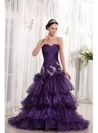 grape organza sheath cheap quinceanera dress with train 1st dress com
