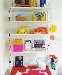 Shelves Kids Room by Scandinavian Kids Room String Shelf System And Desk Area Pip