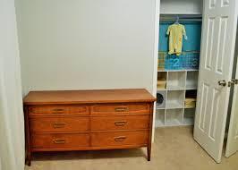 Nursery Closet Sweet Storage For Sweet Stuff Beanie U0027s Dresser And Closet Remake