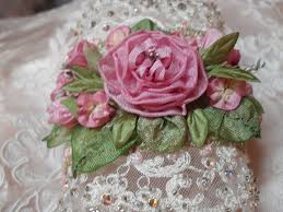 ribbon embroidery flower garden embroidery ribbon flowers makaroka com