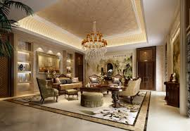 royal meeting room furniture and luxury constructions decorating
