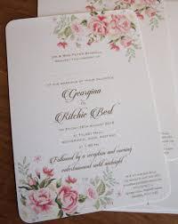 Pink Wedding Invitations Romantic Blush Pink Wedding Invitations U2013 Paper Pleasures Wedding