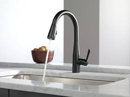 black best touchless kitchen faucet single hole handle pull down