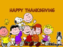 peanuts happy thanksgiving clipart clipartxtras