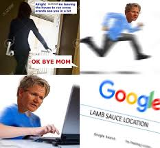 Chef Meme Generator - chef gordon ramsay trying to locate the lamb sauce becomes dank meme