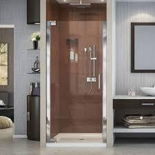 28 Shower Door Dreamline Elegance 28 3 4 To 30 3 4 In Frameless Pivot Shower