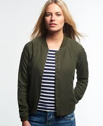 light bomber jacket womens bomber jacket khaki lillie frome our stores nzd127 01
