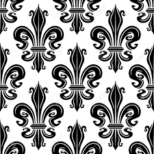 what is floral pattern in french seamless french royal lilies black and white floral pattern of