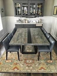 Weathered Wood Dining Table Dining Tables Grain Designs