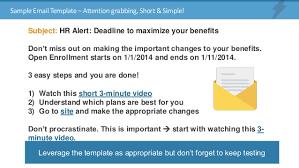 Open Enrollment Email Template open enrollment flyer sle pertamini co