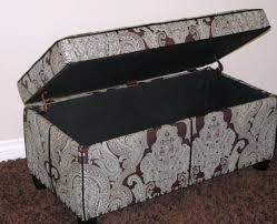 Storage Bench Fabric Bench Awesome Antique Ottoman Storage Bench Charismatic Ottoman