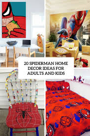 20 spiderman home décor ideas for adults and kids shelterness