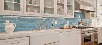 glass subway tile backsplash kitchen colored subway tiles home design