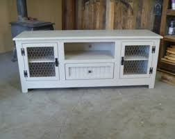 Shabby Chic Credenza by Rustic Pallet Tv Stand Chicken Wire Doors Sideboard