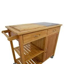 linon kitchen island 48 linon home linon home bamboo rolling kitchen island tables