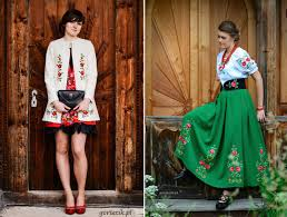 polish workshop that gives their traditional clothing a modern