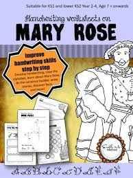 cursive handwriting worksheets for 7 11 years mary rose ks1