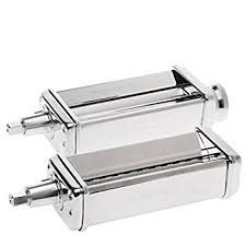 Kitchen Aid Pasta Maker by Amazon Com Kitchenaid Pasta Roller And Fettuccini Cutter
