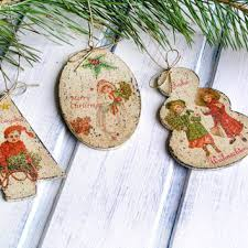 best decoupage ornaments products on wanelo
