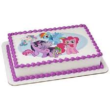 pony cake whimsical practicality my pony edible icing image