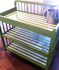 rolling baby changing table repurposed baby changing table to rolling drink cart add casters