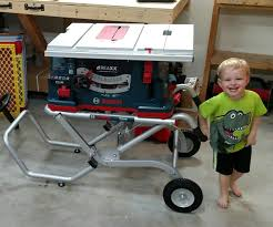 Wet Tile Saw From Harbor Freightherpowerhustle Com by Bosch Table Saw Reaxx This Bosch Reaxx Tablesaw Was Recently