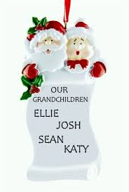 Grandparent Christmas Ornaments Personalised Christmas Ornaments For Grandparents Personalised