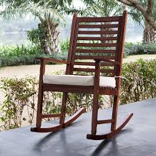 furniture exciting patio furniture design with wood lowes rocking