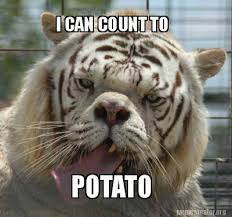 Count To Potato Meme - meme creator i can count to potato meme generator at memecreator