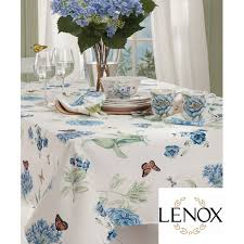 buy butterfly meadow blue tablecloth by lenox bedbathhome